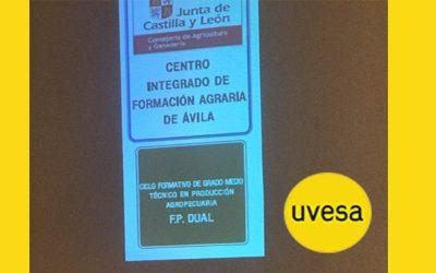 Grupo Uvesa colabora con la primera FP Dual de Producción Agropecuaria de Porcino en Castilla y León