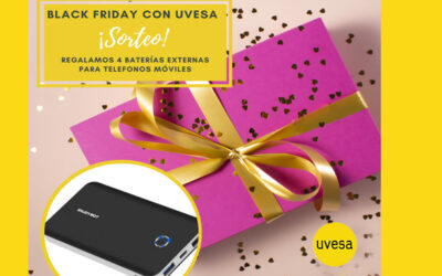 New raffle on Facebook and Instagram: BlackFriday with Uvesa