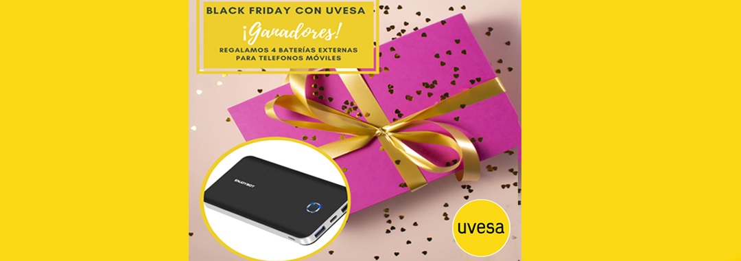 Winners of the draw: Black Friday with Uvesa