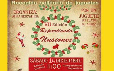 """Uvesa Málaga participa en el evento solidario """"Repartiendo ilusiones"""""""