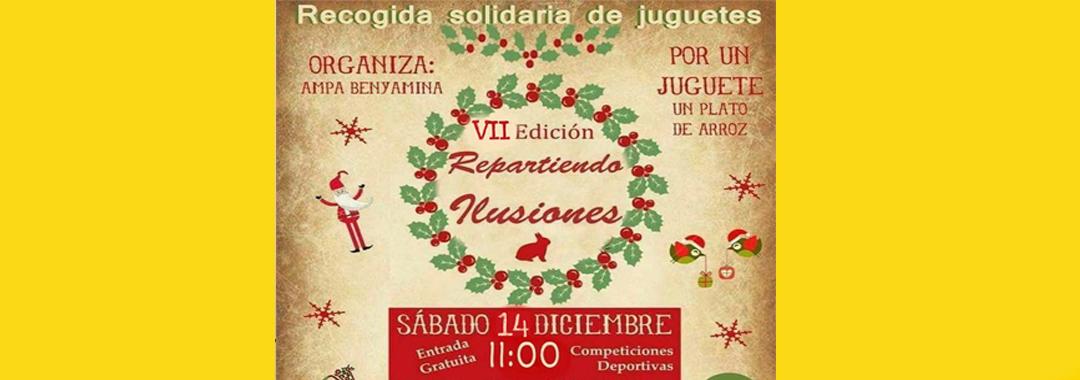 "Uvesa Málaga participates in the solidarity event ""Spreading illusions"""