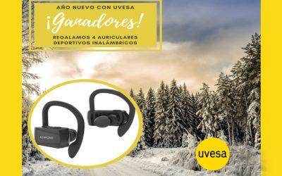Gagnants du tirage sur Facebook et Instagram: une vie saine avec Uvesa en janvier