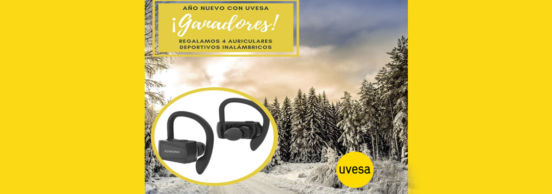 Winners of the Draw on Facebook and Instagram: Healthy life with Uvesa in January