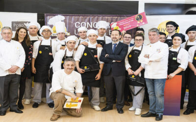 Great success of the 3rd contest Prepare your chicken recipe held at Eht Alcala and Hotel Escuela Madrid