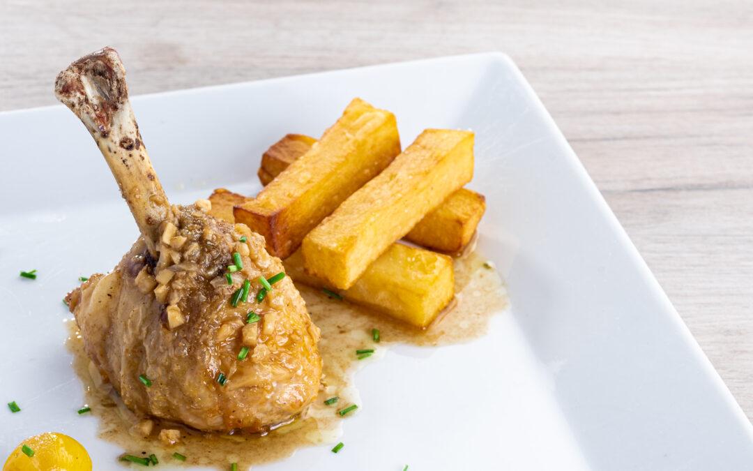 Receta: Chupachups de pollo al ajillo
