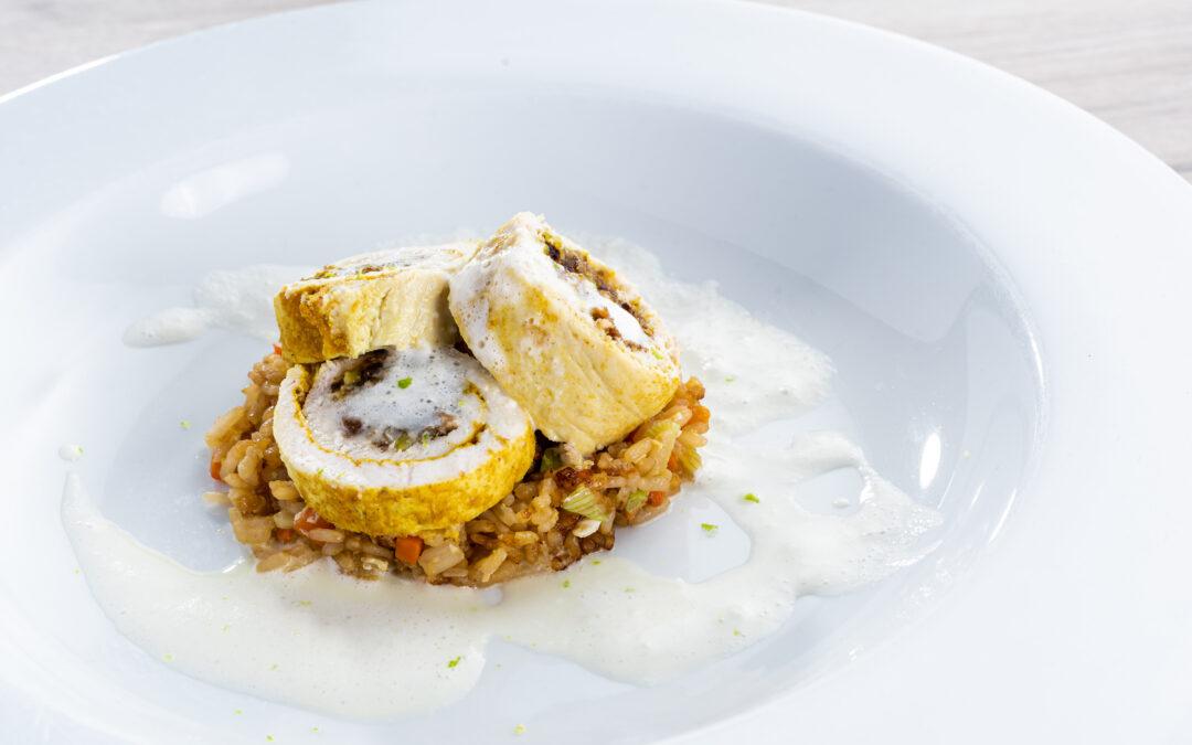 Receta: Pechuga de pollo en nueces con Khao pad