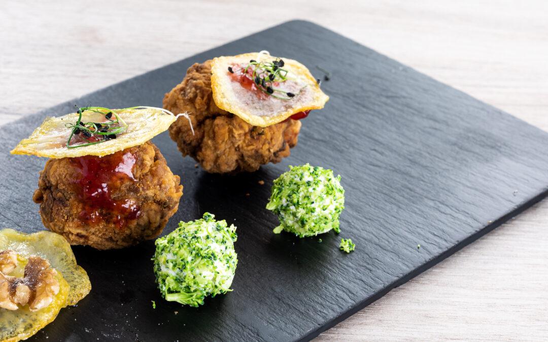 Receta: Pollo al Dragón ball (bolitas crujientes de pollo)
