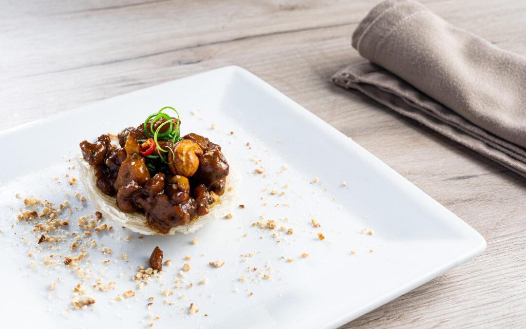 Receta: Tapa de pollo gongbao estilo Chen