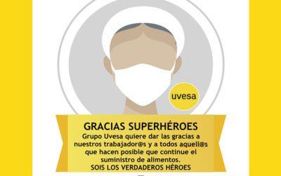 Gracias al los trabajadores y colaboradores Uvesa