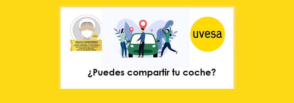¿Puedes compartir tu coche?