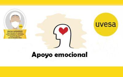 Apoyo emocional a trabajadores de Uvesa