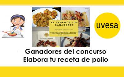 """Ya tenemos los 4 ganadores del concurso """"Elabora tu receta de pollo típica de tu país"""""""