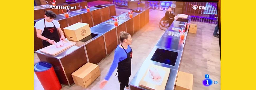 El pollo, protagonista en las cocinas de Mastercherf 8