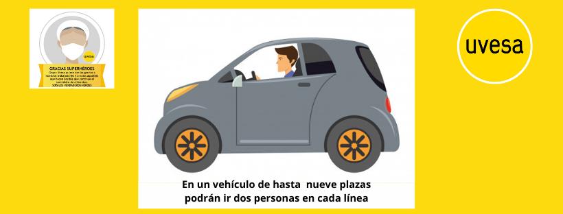 Nuevo aviso para los que comparten coche