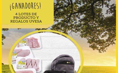 Ganadores Sorteo del Facebook e Instagram: Vida sana con Uvesa en mayo