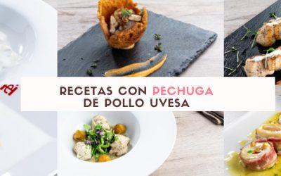 6 Recetas con pechuga de pollo para disfrutar cocinando: en e-book y en video