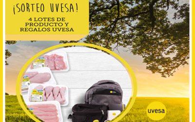 Nuevo Sorteo en Facebook e Instagram: Vida sana con Uvesa en mayo