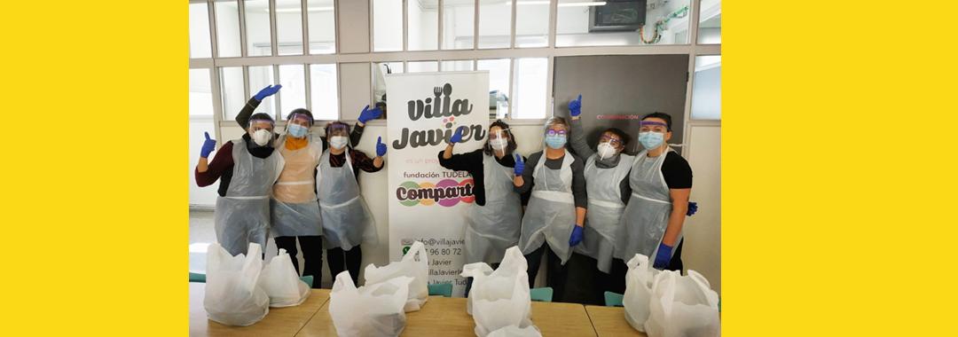 Grupo Uvesa colabora con los proyectos de ayuda contra el Covid-19 de Villa Javier en Tudela