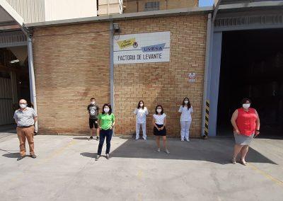 Fábrica piensos Uvesa Alcácer (Valencia)