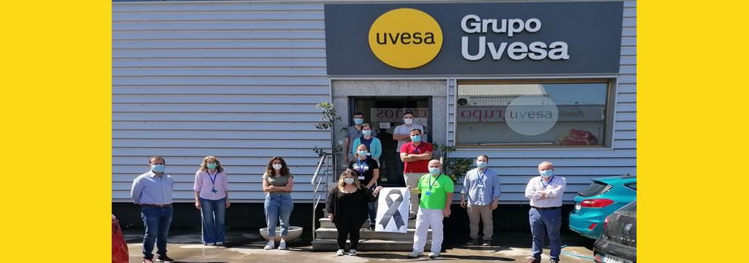 Grupo Uvesa se une al minuto de luto oficial