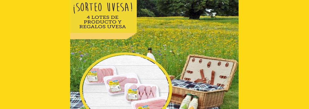 Nuevo Sorteo en Facebook e Instagram: Vida sana con Uvesa en junio