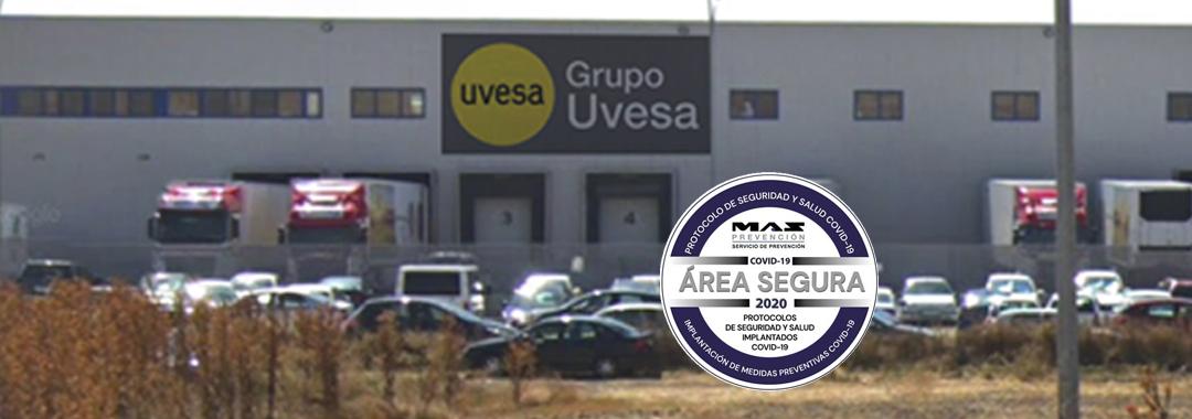Grupo Uvesa en Cuéllar, acreditada como entorno seguro por la aplicación de medidas contra la Covid-19
