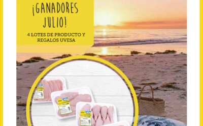 Ganadores Sorteo del Facebook e Instagram: Vida sana con Uvesa en julio