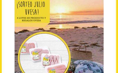 Nuevo sorteo Uvesa en Julio: en Facebook e Instagram