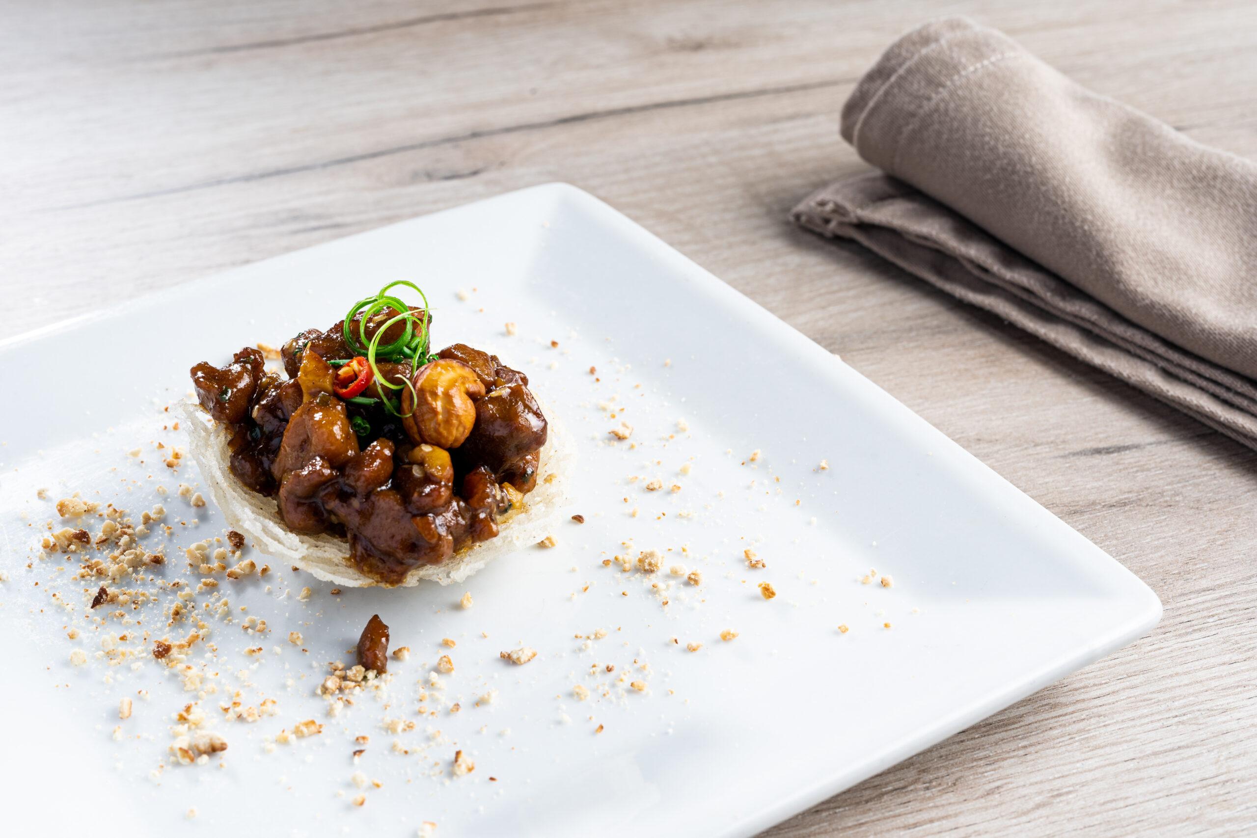 Tapa pollo gongbao estilo chen