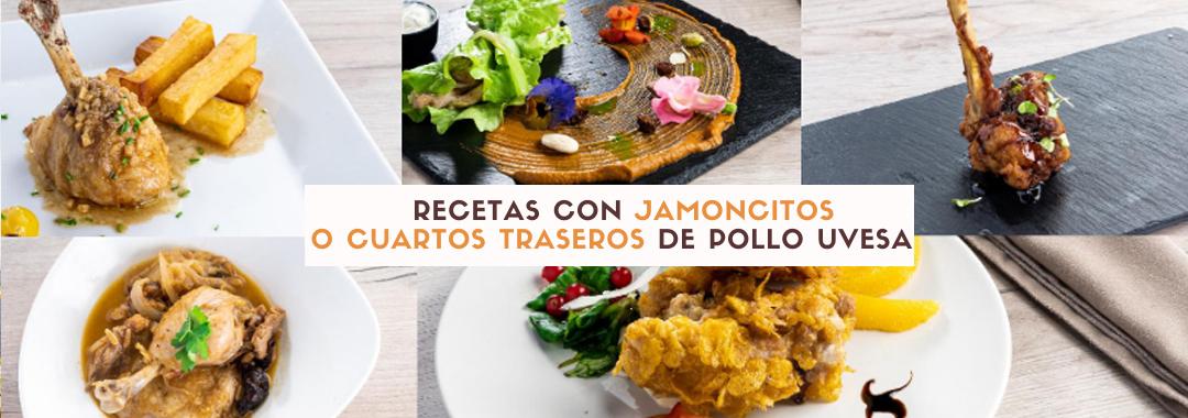 5 Recetas con Jamoncitos y cuartos traseros de pollo para disfrutar cocinando: en e-book y en video