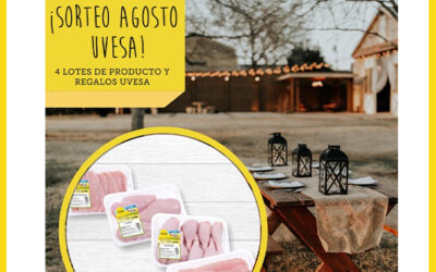 Nuevo sorteo Uvesa en Agosto: en Facebook e Instagram