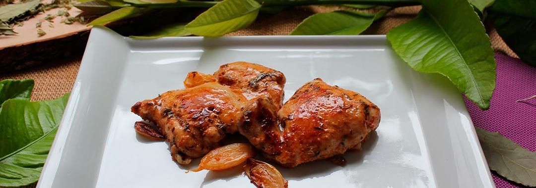 Churrasco de pollo casero