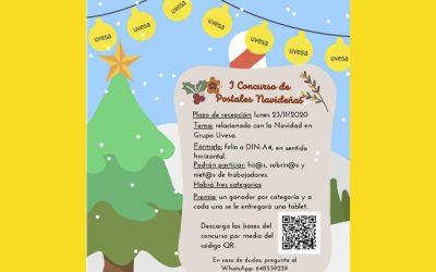 I Concurso postales Navidad de Uvesa