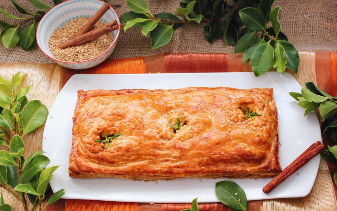 Empanada marroquí de pollo (Estilo pástela)
