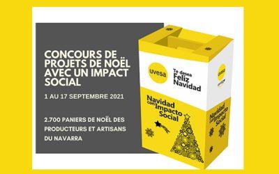 """Le groupe Uvesa lance le concours """"Noël avec un projet à impact social""""."""