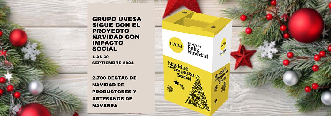 """El concurso de Grupo Uvesa """"Navidad con impacto social"""" continúa abierto para productores y artesanos locales de Navarra"""