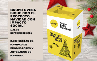 """The Uvesa Group's """"Christmas with social impact"""" competition is still open for local producers and artisans in Navarre."""