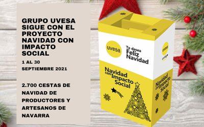 """Le concours """"Noël à impact social"""" du Groupe Uvesa est encore ouvert aux producteurs et artisans locaux de Navarre."""