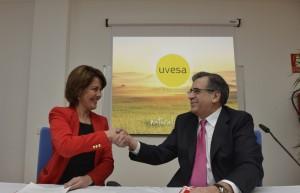 2013 Tudela Uvesa y Gobierno de Navarra-28 enero-firma protocolo nueva incubadora